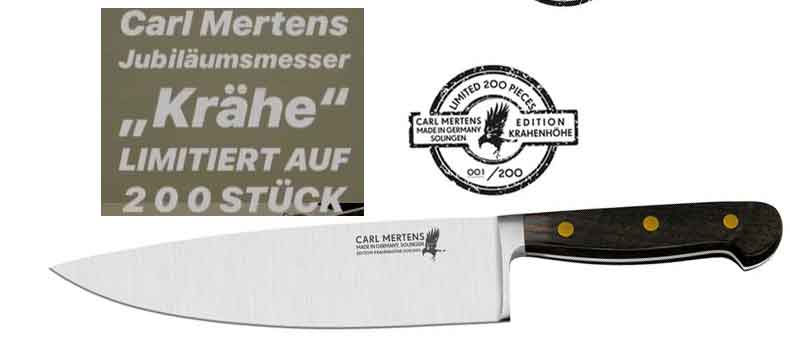 CARL MERTENS limited Edition knife