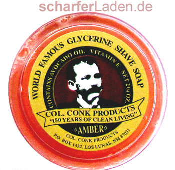 Col Conk Shaving soap Amber