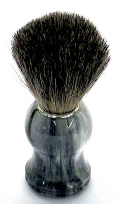Shaving Brush Badgers Hair grey