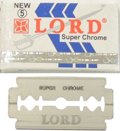 5 Lord SUPER CHROME Rasierklinge