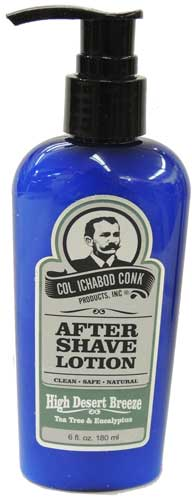 Col. Conk After Shave Lotion fresh lemon smell