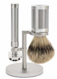 MÜHLE ROCCA Shaving set stainless steel