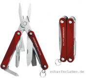LEATHERMAN SQUIRT PS4 Multi-Tool rot