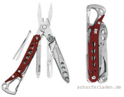 LEATHERMAN STYLE PS Multi-Tool rot
