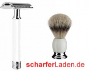 Muehle Shaving Brush Shaving Razor Set precious