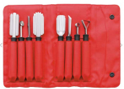 TRIANGLE CARVING Schnitzmesser SPECIAL Set 8-teilig