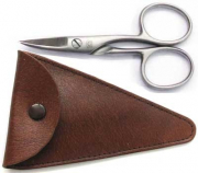 H. W. B�ker nail scissors with Etui