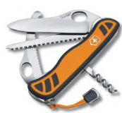 VICTORINOX HUNTER XT GRIP Jagdmesser  orange schwarz