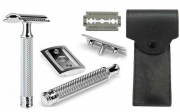R89  Mühle Shaving Razor incl leather case