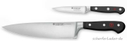 1 Kitchen Knife Classic and one Vegetable Knife trident Wüsthof Solingen