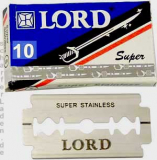 10 Lord Rasierklingen SUPER STAINLESS