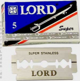 5 Lord Rasierklingen SUPER STAINLESS