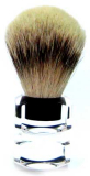 Luxury Shaving Brush Silverzupf  Silverspitz Golddachs Acrylic While Stock Lasts