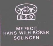 Luxus Scheren von   H. W.  Böker