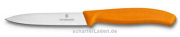 10 cm VICTORINOX Swiss Classic Messer glatt orange