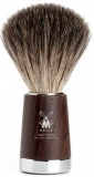 21mm Shaving Brush real Badger Hair in ash tree wood