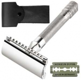 33-C Merkur razor with leathercase