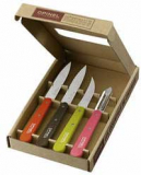 Coloured Opinel Knives Set