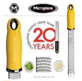 MICROPLANE Serie PREMIUM CLASSIC Reibe Zester gelb