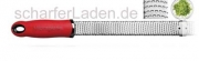 MICROPLANE Serie PREMIUM CLASSIC Reibe Zester rot