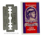 Razor Blades Timor 10 Pieces